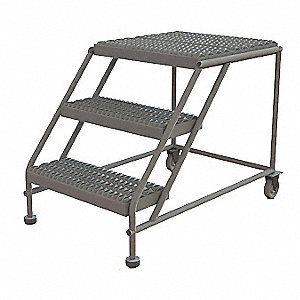 Swell Rolling Work Platform Steel Single Access Platform Style 30 Platform Height Squirreltailoven Fun Painted Chair Ideas Images Squirreltailovenorg