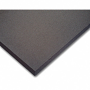 Antifatigue Mat, Closed Cell PVC Nitrile Foam Blend, 4 ft. x 3 ft., 1 EA