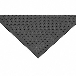 Traction Mat,Black,3 ft.x4 ft.