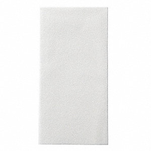 Guest Towel,Wt,1Ply,1/6 Fold,PK500