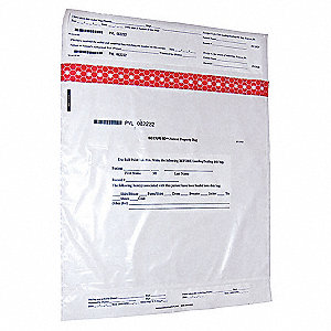 Personal Property Bag,19 x 20 In,PK250