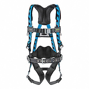 AirCore™ Full Body Harness with 400 lb. Weight Capacity, Blue, S/M