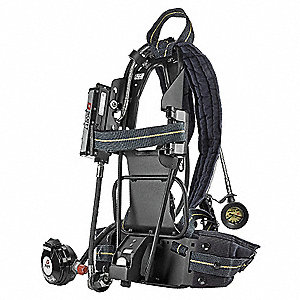 SCBA Backframe Assembly, Includes Backframe/Harness,Gauge, Mask Mounted Regulator, Hard Case