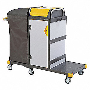 """Equipe 3 Cleaning Cart,55""""x22""""x42"""""""