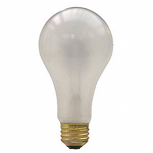 150 Watts Incandescent Lamp, A21, Medium Screw (E26), 1770 Lumens, 2800K Bulb Color Temp.