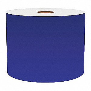 4IN BLUE VINYL TAPE, 150FT