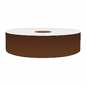1IN BROWN VINYL TAPE, 150FT