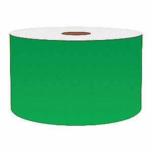 3IN GREEN VINYL TAPE, 150FT