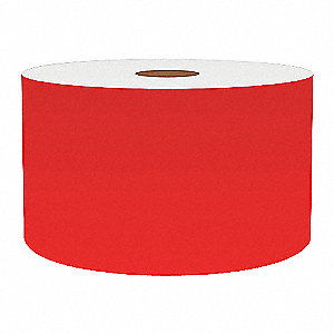 3IN RED VINYL TAPE, 150FT