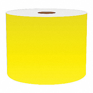 4IN YELLOW VINYL TAPE, 150FT