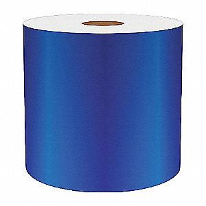 4IN BLUE REFLECTIVE VINYL, 75FT