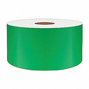 2IN GREEN REFLECTIVE VINYL, 75FT