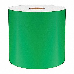 4IN GREEN REFLECTIVE VINYL, 75FT