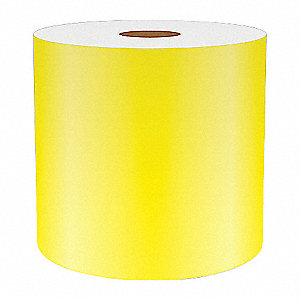 3IN YELLOW REFLECTIVE VINYL, 75FT