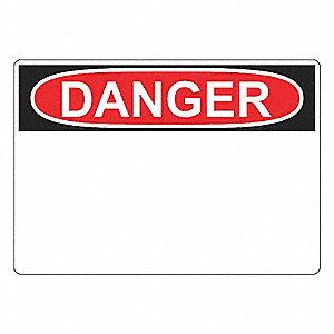 3INX5IN OSHA DANGER HEADER 250/ROLL