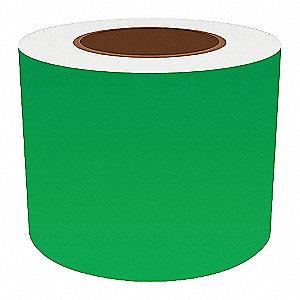 4IN GREEN VINYL TAPE, 150FT
