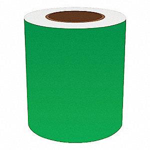 6IN GREEN VINYL TAPE, 150FT
