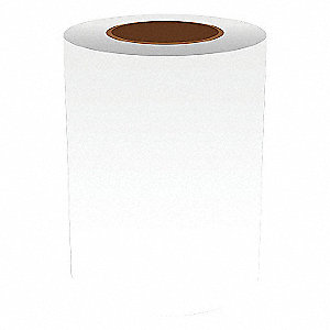 7IN WHITE VINYL TAPE, 150FT