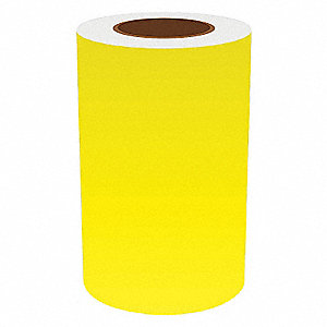 8IN YELLOW VINYL TAPE, 150FT