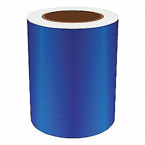 6IN BLUE REFLECTIVE VINYL, 75FT