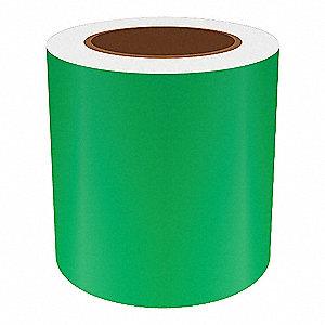 5IN GREEN REFLECTIVE VINYL, 75FT