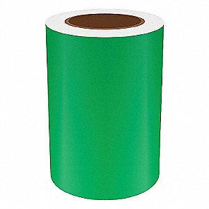 7IN GREEN REFLECTIVE VINYL, 75FT