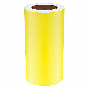 9IN YELLOW REFLECTIVE VINYL, 75FT