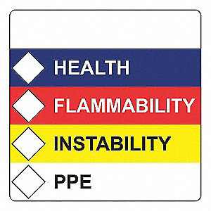 4 X 4 HFIP LABELS 250/ROLL