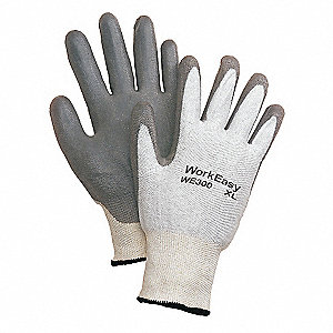 GLOVE 13 CUT HPPE SHELL W/PU COAT