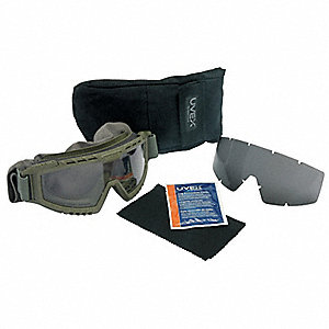 KIT GRN BODY, CLR/GRY LENS, CASE