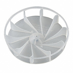 Blower Wheel Plastic 3/16 In Bore