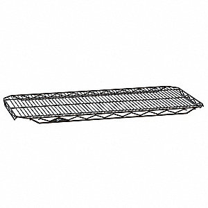 "36""W x 21""D Wire Shelf, Epoxy Finish, 250 lb. Shelf Capacity, Copper Hammertone"