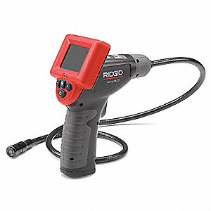Video Borescope,2.4 In,36 In Shaft