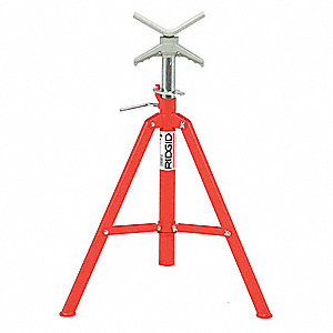V-HEAD HIGH FOLDING PIPE STAND