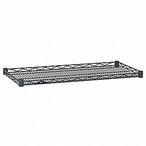 Wire Shelf,18x36 in.,Silver,Epoxy,PK4
