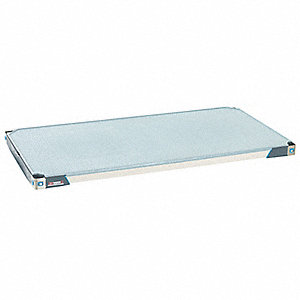"60"" x 18"" Polymer w/Microban Solid Shelf with 800 lb. Capacity"