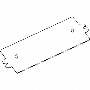 Adapter Plate, For Use With Non Studded Ballasts