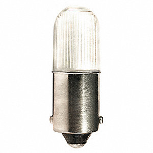 Trade Number L1060MB-R, 0.7 Watts Miniature LED Lamp, T3-1/4, Miniature Bayonet (BA9s)