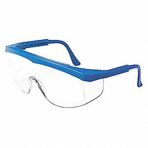 STRATOS® Scratch-Resistant Safety Glasses, Clear Lens Color