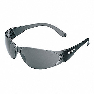 Checklite® Scratch-Resistant Safety Glasses , Gray Lens Color