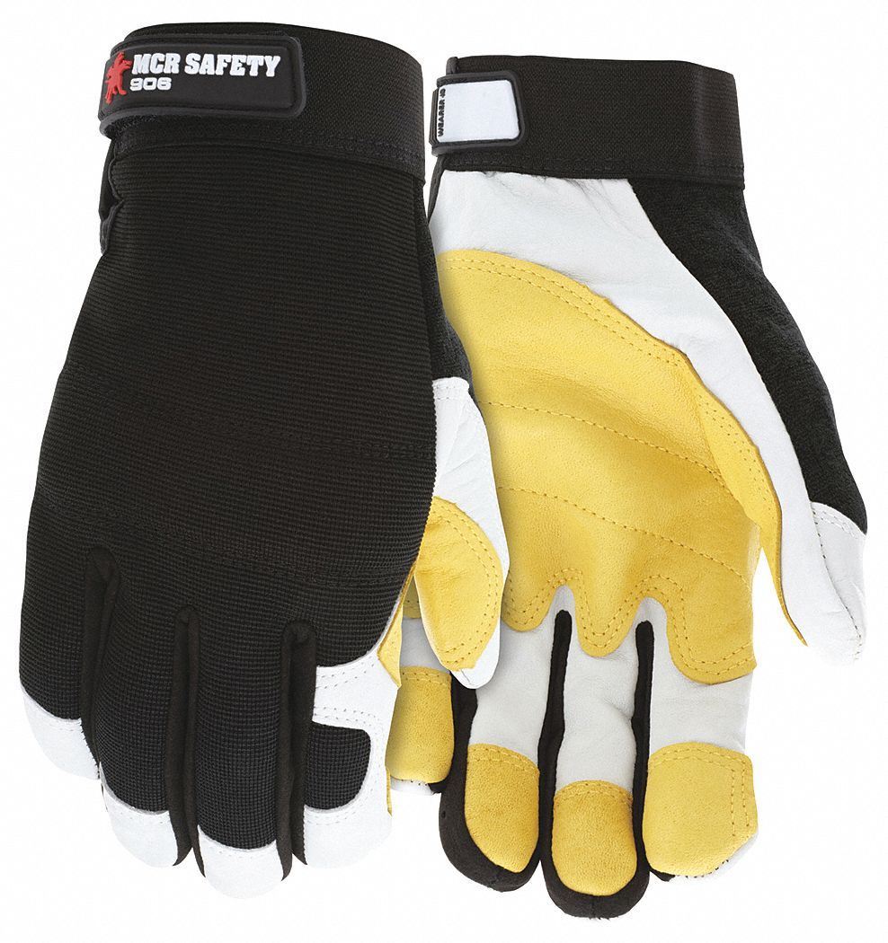 Mechanics Gloves,  2XL,  Mechanics,  1 PR