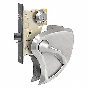 Lever Lockset,Mechanical,Entrance