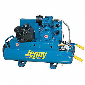 Jenny 1 5 Hp 115 230vac 7 8 Gal Wheelbarrow Electric