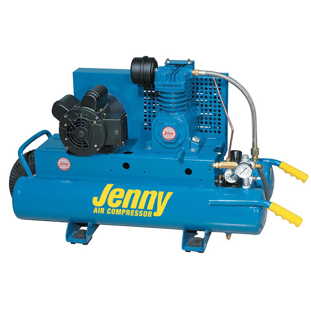 Electric Air Compressor >> 1 5 Hp 115 230vac 7 8 Gal Wheelbarrow Electric Air Compressor 125 Psi