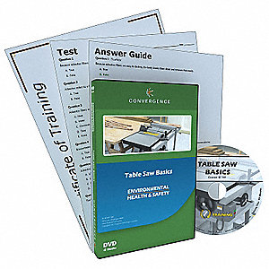 Training,Table Saw Basics,DVD,English