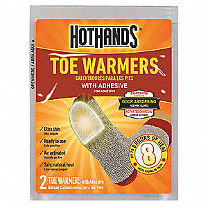 Toe Warmer,3-1/2 in. x 2-3/4 in.,PR