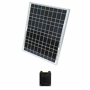 36-Cell Polycrystalline Solar Panel, 17.3VDC, 2.35A