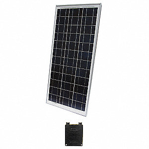 36-Cell Polycrystalline Solar Panel, 18.3VDC, 5.04A