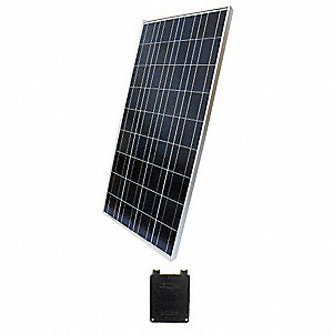 36-Cell Polycrystalline Solar Panel, 18.3VDC, 7.65A