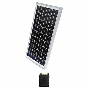 36-Cell Polycrystalline Solar Panel, 16.8VDC, 1.78A